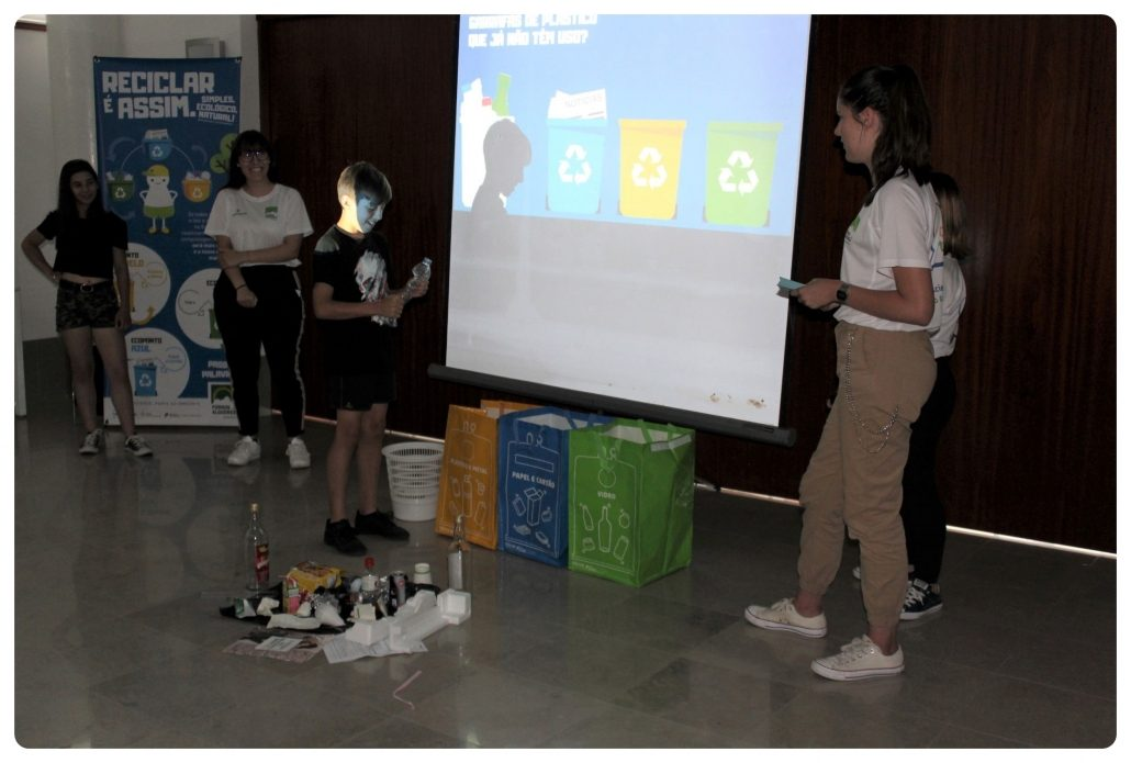 EcoJovens - Workshop_Reciclagem