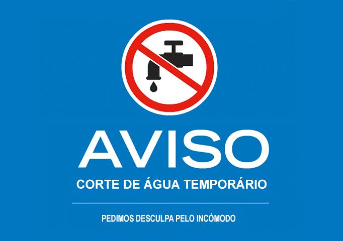 Corte Abastecimento Agua