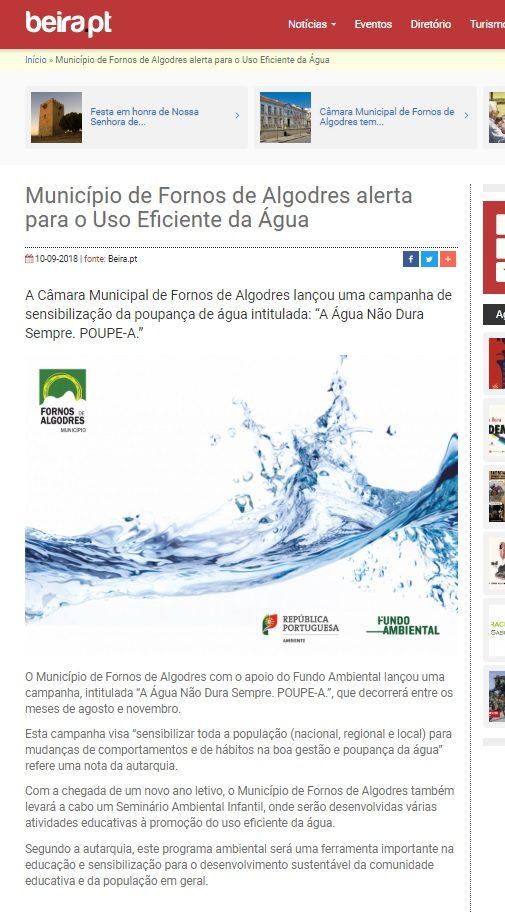 Balanço Campanha da Água