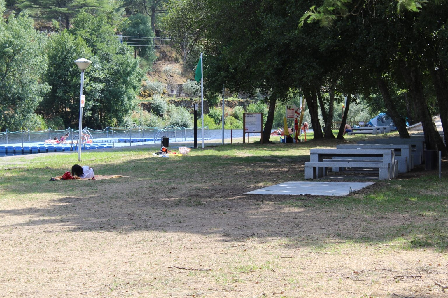 Praia fluvial - Época Balnear 2020